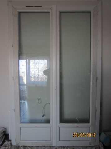Balkonové dveře plastové