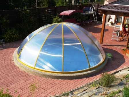Prodám zastřešení bazénů bazar
