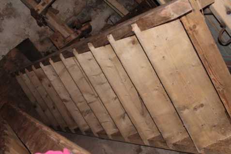 Dřevěné schody bazar